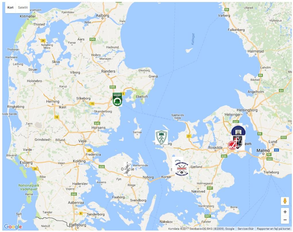 Klubber i DK