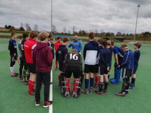 U16 landsholdet sidste åbne træning til Hockey5 EM