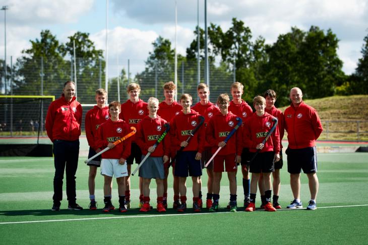 U16 landshold 2019. Foto: Lasse Steinmetz